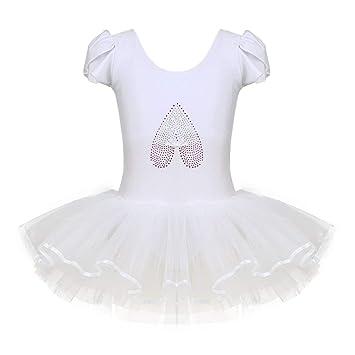 aeefc979dcbf iiniim Girls Kids Princess Ballet Dance Tutu Dress Leotard Skirt ...