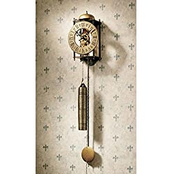 Add an Updated Traditional Wall Clock to Your Home Decor Wall Hangings for Decorative Flair. This Pendulum Weight Driven Regulator Clock Gets Noticed. These Novelty Gifts Are Very Popular for Their Style and Appeal.