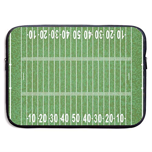 (Funny Design American Football Field Laptop Sleeve Waterproof Neoprene Diving Fabric Protective Briefcase Laptop Bag for IPad, Notebook/Ultrabook/Acer/Asus/Dell)