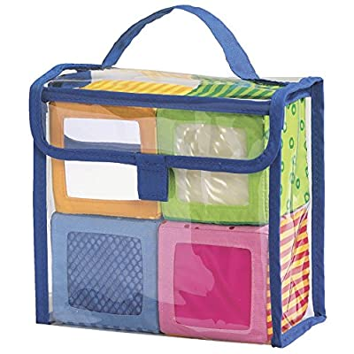 HABA Happy Quartett Soft Block Set Each with a Unique Sound for Ages 6 Months and Up: Toys & Games