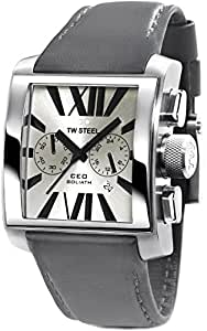 TW Steel Men's CE3003 Stainless Steel Analog Silver Dial Watch