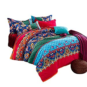 51w8mPa0lJL._SS300_ 100+ Best Bohemian Bedding and Boho Bedding Sets For 2020