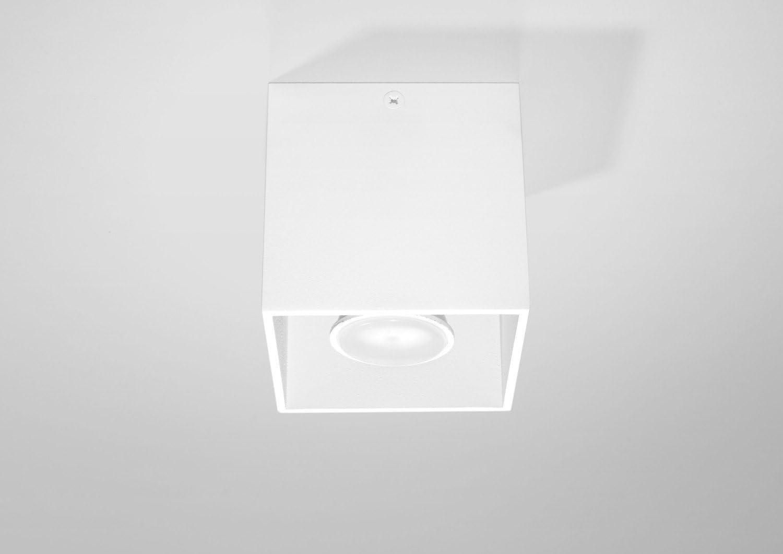Bauhaus Foco (en blanco, altura 10cm). Proyección Piso Cultivo Interior Lámpara de techo de montaje Spot