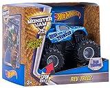 Hot Wheels Monster Jam Rev Tredz Vehicle, Blue Thunder