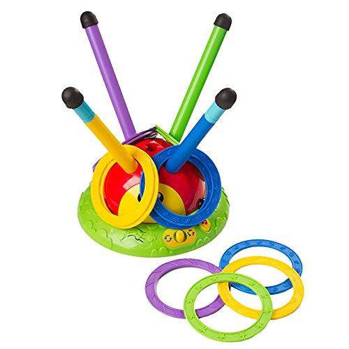 Fat Brain Toys 2 in 1 Musical Jump 'n Toss - 2-in-1 Musical Jump 'n Toss