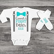 589ca953d Baby Boy 1st Easter Outfit Personalized Easter Outfit Baby Boy Clothes Baby.