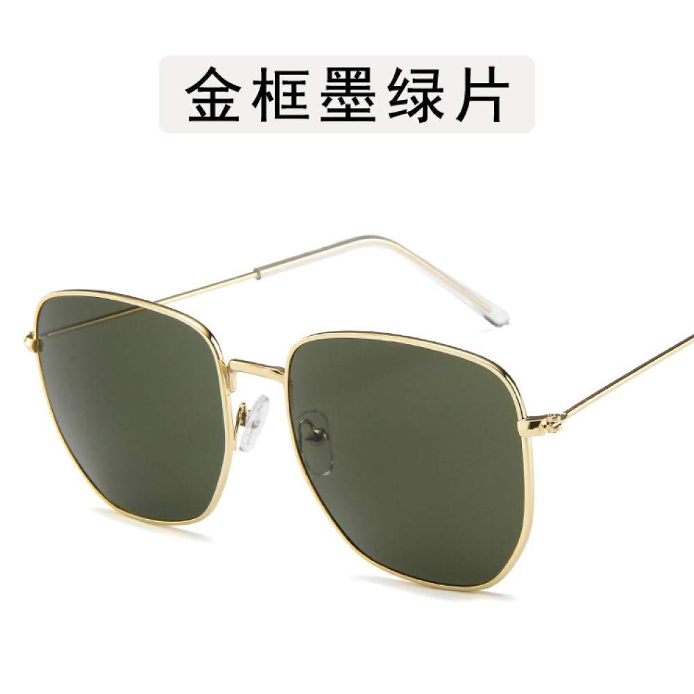 Yangjing-hl Gafas Gafas de Sol Gafas de Metal de ...