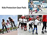 Po Lyle Knee Elbow Wrist Pads Kids,Wrist Guard