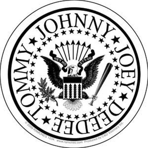 (Ramones - White Eagle Presidential Seal Sticker)