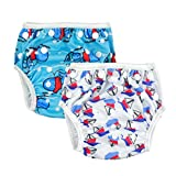 Alva Baby 2pcs Pack One Size Reuseable Washable Swim Diapers SW01-02-CA