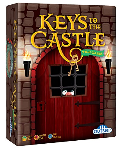 (Outset Media - Keys to the Castle - Race Your Fellow Knights Through the Castle in this Fast Paced Strategy Card Game - Ages 8+)