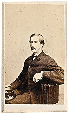 Amazon 1860s Carte De Visite Photograph Unknown Man