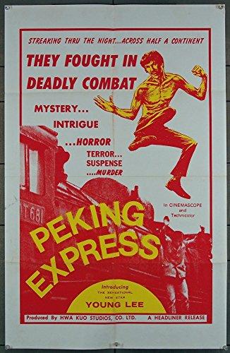- PEKING EXPRESS (70S) Original Headliner Films U.S. Poster (25x38.5) Original Movie Poster