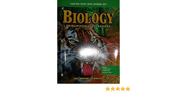 Biology Principles & Explorations: Test Preparation with Answer ...