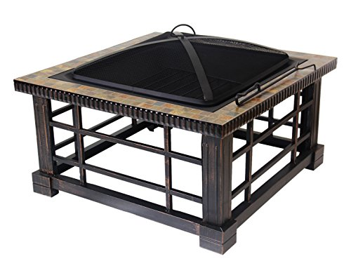 Patio Watcher Fire Pit Fire Table For Outdoor Patio Backyard - 30 inch fire pit table