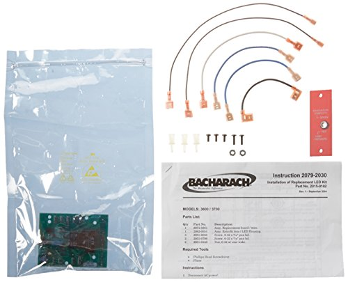 Bacharach 2015-0182 Led Circuit Control Board for Models 3600 and 3700 Commercial Refrigerant Recovery -