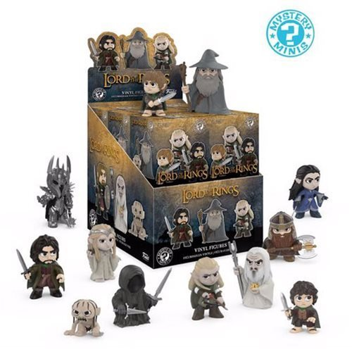 Funko Mystery Minis The Lord of the Rings Mini Toy Action Figure - 2 PACK BUNDLE