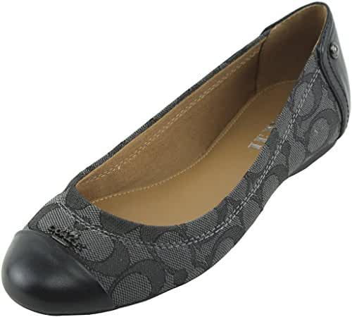 Coach Women's Chelsea Leather Flat