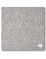 """OHOCO Wool Pressing Mat for Quilting - XL Extra Large Felt Ironing Pad 1/2"""" Thick, 100% Wool Heat Resistant for Ironing, Sewing, Cutting on Ironing Board, Tabletop, Dryer, Countertop"""