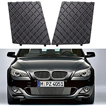 Excellent Two Pieces OEM Replacement Bumper Side Grille for BMW M5 E60 E61 E39 E34 E46 E36 US Stock Car Grille