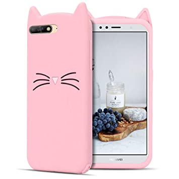 coque chat huawei y6 2019