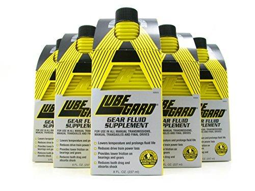 LUBEGARD Lube Gard Standard Gear & Rear End Transmission Oil Additive 6 pack by Lubegard