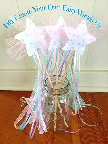 Magic Fairy Wands Kit- Kids Craft, Rainbow, DIY from HappyPeople