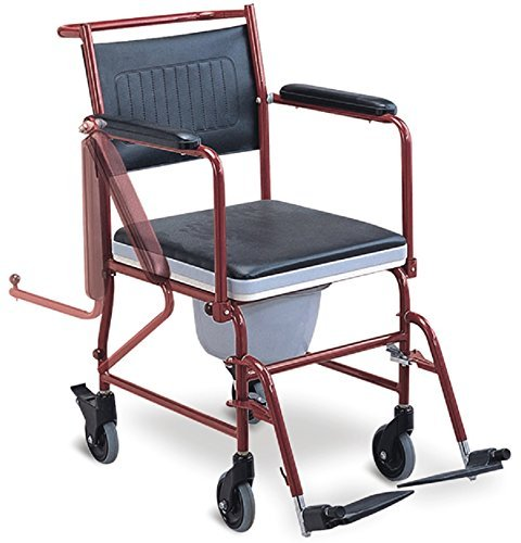 Amazoncom MedMobile 3 in 1 Commode Chair Bedside Toilet and