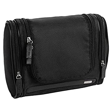 0e57a4a95a Amazon.com   Calvin Klein Black Travel Hanging Toiletry Dopp Shave Kit Bag  NWT  65 GIFT   Beauty