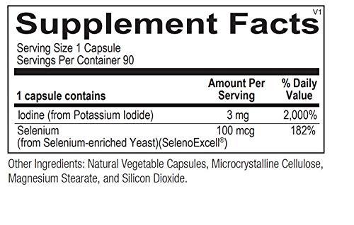 Ortho Molecular Products - Seleno-Iodide 90 Capsules