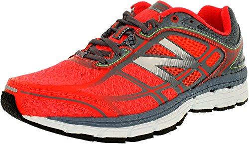 New Balance Luggage (New Balance Men's Running Course M Flame/Grey Low Top Mesh Running Shoe -)