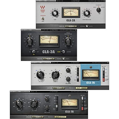- Waves CLA Classic Compressors Native Bundle