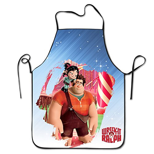 [Super Wreck Boy Personality Sewing Apron One Size] (Wreck It Ralph Costume For Girls)