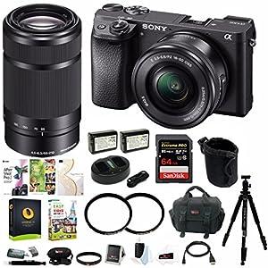 Sony a6300 Mirrorless Digital Camera Bundles