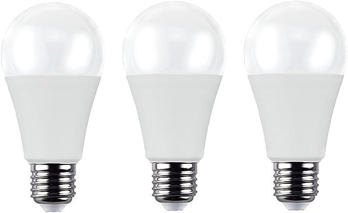 masonanic 3 Pack bombilla LED e27,15 W 1500 lúmenes Sustituye 120 ...