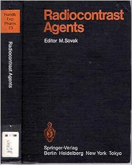 Radiocontrast Agents (Handbook of Experimental Pharmacology)