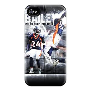 iphone 6 Hard Back With Bumper Silicone Gel Tpu Case Cover Denver Broncos