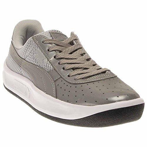 Puma Top Silver Gv Leather Low Special Reflective Metallic Mens Black Fashion Sneaker rCXqar