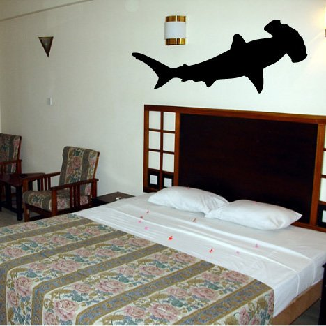 Hammerhead Shark - Vinyl Wall Art Decal Stickers Decor Graphics