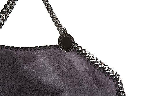 Stella Mccartney sac à main femme falabella shaggy deer forever tote gris