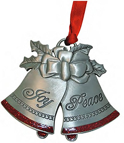 Ornament-Joy To The World (Ornaments Of Faith)-Pewter (Jul) (Bells Christmas Pewter Ornament)