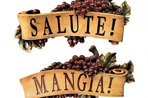 Design Toscano 2-Piece Salute and Mangia Wall Sculpture Set