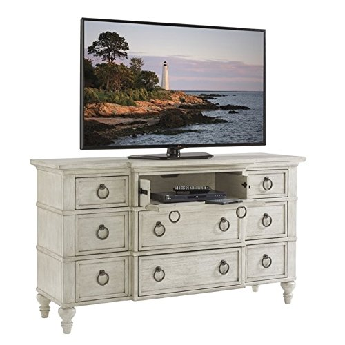 - Beaumont Lane 9 Drawer Triple Dresser in Oyster