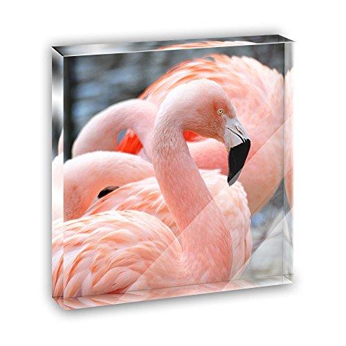 4in Flamingo Ornament - 8