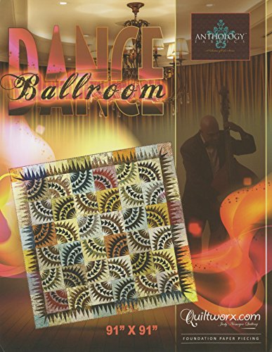 Ballroom Dance Foundation Paper Piecing Quilt Pattern by Judy Niemeyer Quilting