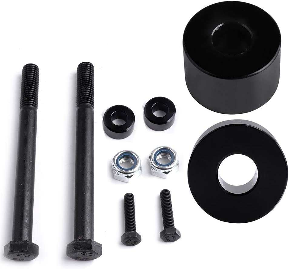 TUPARTS Leveling Lift Kit for Tacoma compatible with 2005-2018 Toyota Tacoma 4WD Differential Drop Kit