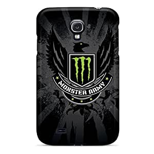 Samsung Galaxy S4 Bon12182QlLf Allow Personal Design Stylish Monster Army Logo Pictures Great Cell-phone Hard Covers -KennethKaczmarek