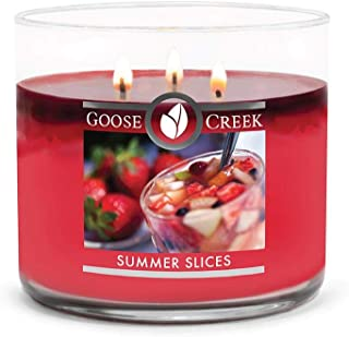 product image for Goose Creek 3-Wick Candle, Summer Slices, Highly Scented