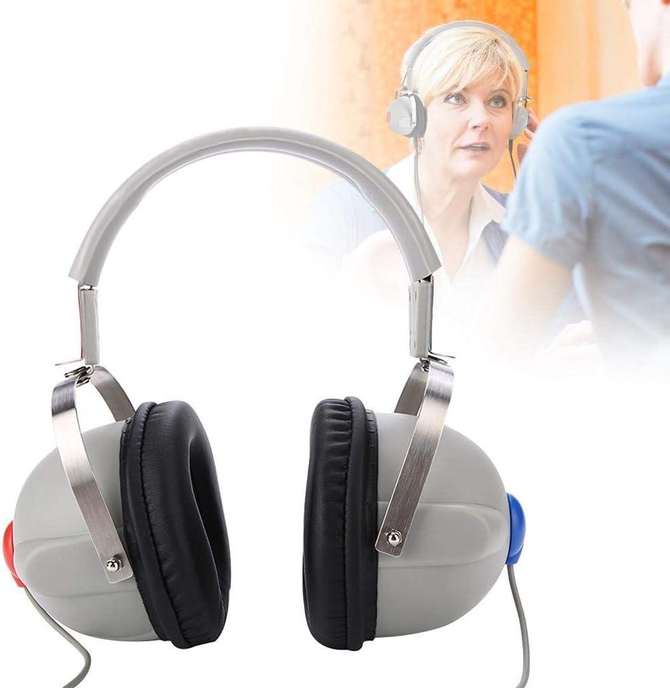 Audífonos, Amplificador de audición digital, Estéreo Micrófono con Cancelación del Ruido Set de amplificadores auditivos, Solución auditivo