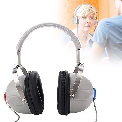 Audífonos, Amplificador de audición digital, Estéreo Micrófono con Cancelación del Ruido Set de amplificadores